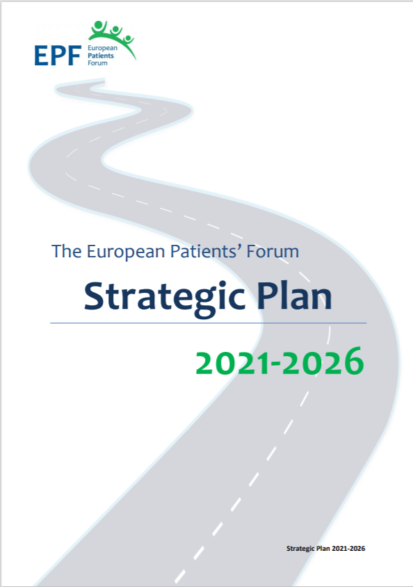 EPF Strategic Plan 2021-2026 cover page